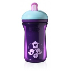 Tommee Tippee Explora Active Straw 12m+, Purple