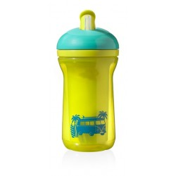 Tommee Tippee Explora Active Straw 12m+, Yellow