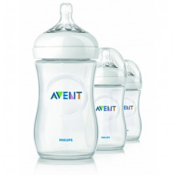 AVENT Natural 9 oz Cloudy (3 Bottle Pack)