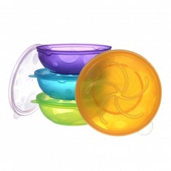 Munchkin Stack A Bowl (4 Pack)