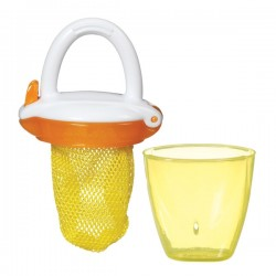 Munchkin Deluxe Fresh Food Feeder, Yellow