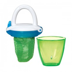 Munchkin Deluxe Fresh Food Feeder, Green Blue