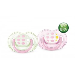AVENT Fashion Soothers, 0-6 months, Sheep