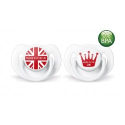 Philips Avent Limited Edition British Soother,  6-18 months