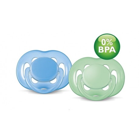 AVENT Freeflow Pacifier, 6-18 months, 2 Pack