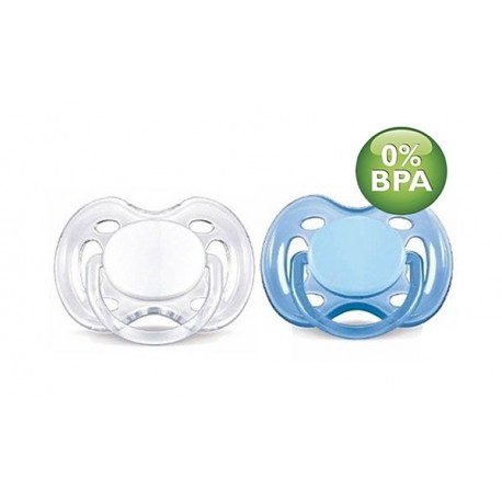 AVENT Freeflow Pacifier, 0-6 months, 2 Pack