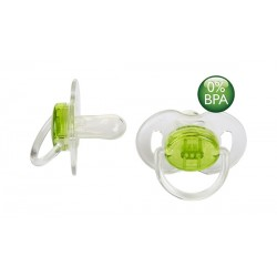 AVENT Translucent Soother Pacifier, 0-6 Months, Green