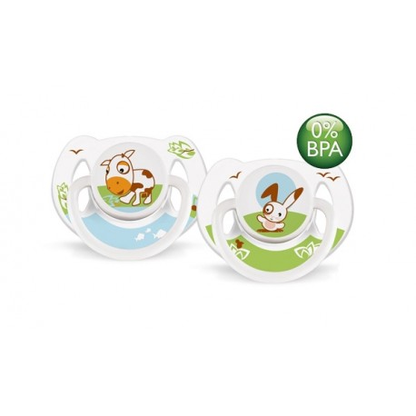 AVENT Animals Soother 6-18 months, 2 Pack