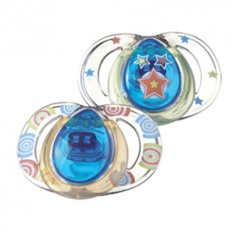 Tommee Tippee Style Soothers, 3-9 months, 2 Pack,