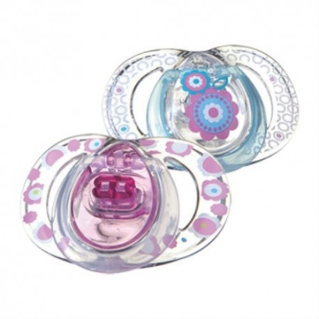 Tommee Tippee Style Soothers, 3-9 months, 2 Pack