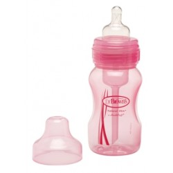 Dr Browns Special Edition 240ml Wide Neck Bottle (1 Bottle), Pink