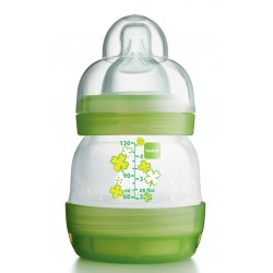 MAM Anti-Colic Bottle 130ml (1 Bottle), Green
