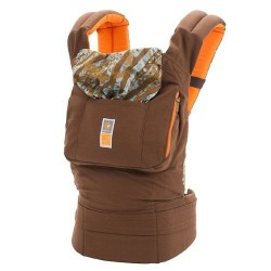 Ergo Baby Designer Carrier, Umba Solid by Christy Turlington Brown