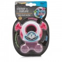 Tommee Tippee Closer to Nature Stage 2 Teether - Pink