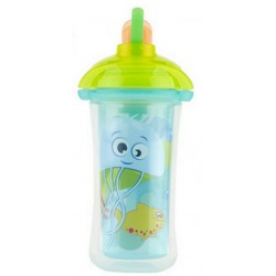 Munchkin Click Lock Insulated Straw Cup 9 oz, Green