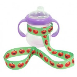Petite Creations No Throw Sesame Street Bottle Holder, Green