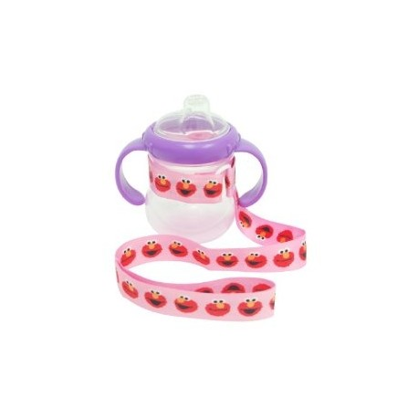 Petite Creations No Throw Sesame Street Bottle Holder, Pink