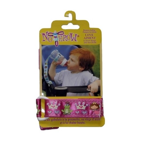 Petite Creations No Throw Bottle Holder, Pink Princess
