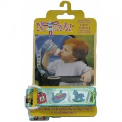 Petite Creations No Throw Bottle Holder, Blue Toys