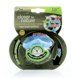 Tommee Tippee Closer to Nature stage 1 Teether - Blue Single