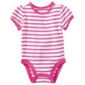 Old Navy Striped Bodysuits for Baby Girl, Pink Stripe