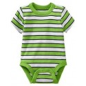 Old Navy Striped Bodysuits for Baby Boy, Green