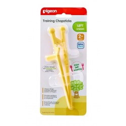 Pigeon Training Chopsticks for Left Hand (Yellow)