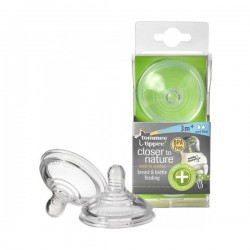Tommee Tippee Anti Colic Medium Flow Nipples, 2 Pack