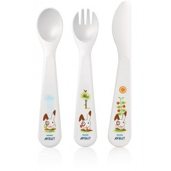 AVENT Baby Fork, Knife and Spoon Set