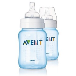 AVENT Classic Limited Edition 9oz Blue (2 Bottle Pack)