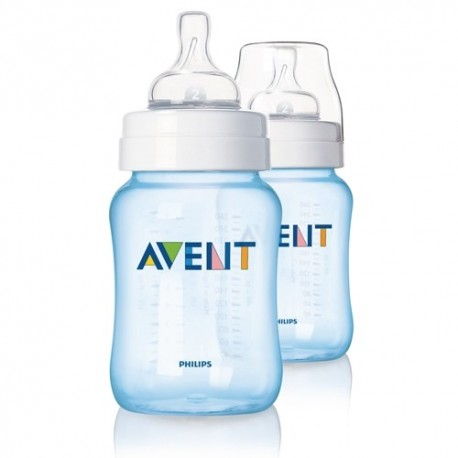 Philips AVENT 9 Oz Special Limited Edition Blue (2 Pack)