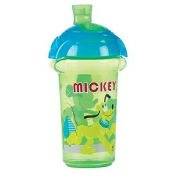 Munchkin Click Lock™ Spill Proof Sippy Cup 9oz, Mickey Blue Green