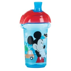 Munchkin Click Lock™ Spill Proof Sippy Cup 9oz, Mickey Blue Red