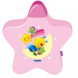 Tomy Starlight Dreamshow Nursery Light Projector, Pink