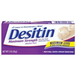 DESITIN Maximum Strength Original Diaper Rash Paste, 2 Oz