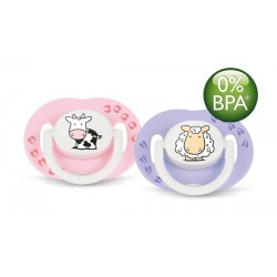 AVENT Fashion Soothers, 3-6 months, Girl