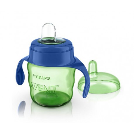 Avent Easy Sip Spout Cup with Handle 7oz / 200 mL, Blue