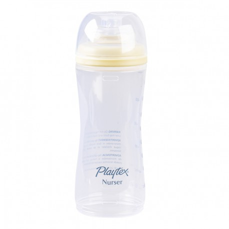 Playtex Premium Nurser with Drop-Ins Liners 1 Bottle 8 - 10 oz, Yellow