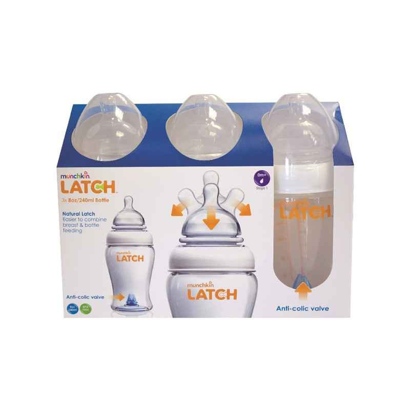 Munchkin Latch Teat Stage 1//stage 2//stage 3 FREE DELIVERY!