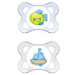 MAM Clear Soother 0+ months