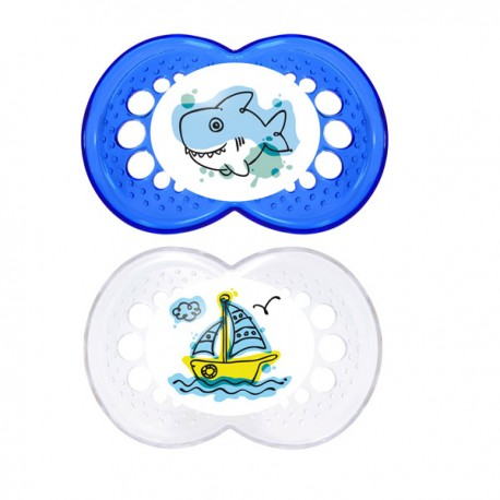 MAM Clear Soother 6 months+