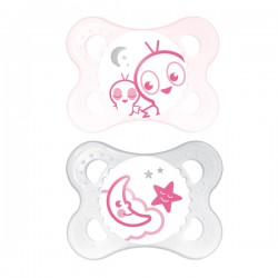 MAM Night Glow In The Dark Soother 0 months +
