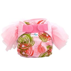 Cluebebe Pocket Classic Tutu Cloth Diaper, Pink