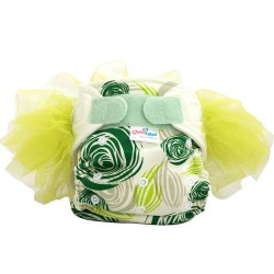 Cluebebe Pocket Classic Tutu Cloth Diaper, Green
