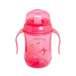 Dr Brown Trainer Cup Hard Spout, Pink
