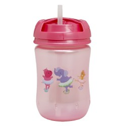 Dr. Brown Training Straw Cup 9oz, Pink
