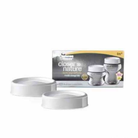 Tommee Tippee Closer to Nature Milk Storage Lids (2 pack)