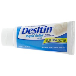 Desitin Rapid Relief Diaper Rash Ointment, Creamy 2 oz (56 g)