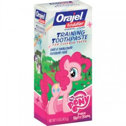 Orajel My Little Pony Fluoride-Free Training Toothpaste