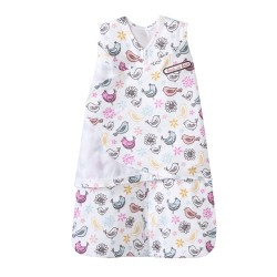 HALO SleepSack Swaddle Pink Bird Print, Small